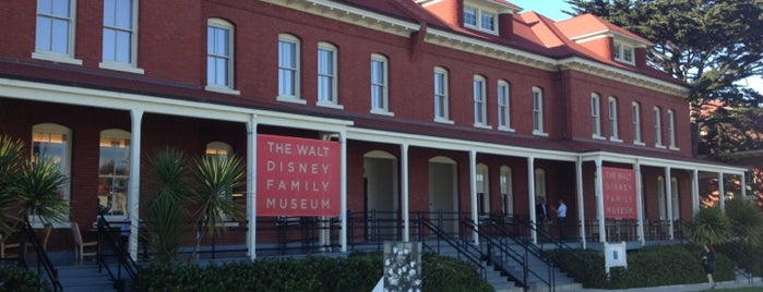 The Walt Disney Family Museum is one of Museums.