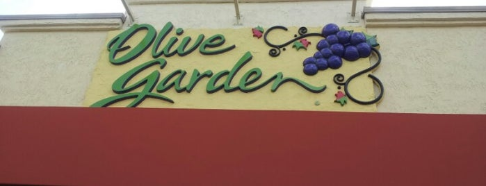 Olive Garden is one of M. 님이 좋아한 장소.