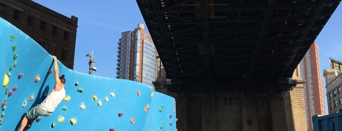 DUMBO Boulders is one of NYC SUMMER 19.