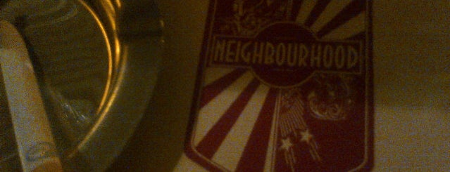 Neighbourhood is one of Tsamina mina waka waka eh eh.