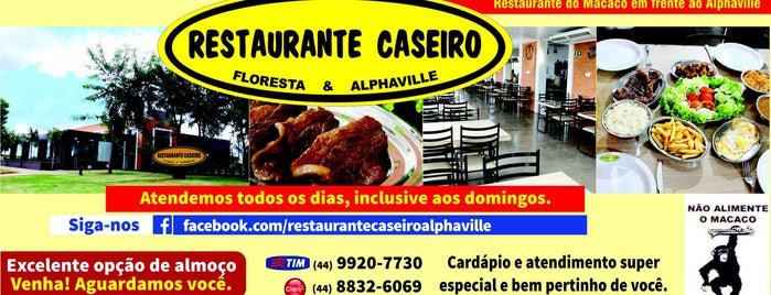 Restaurante Caseiro - Alphaville is one of Lugares guardados de Bruno.