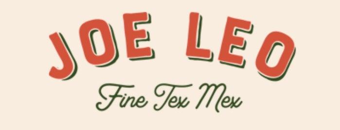 Joe Leo Fine Tex Mex is one of Restaurants To Try - Dallas.