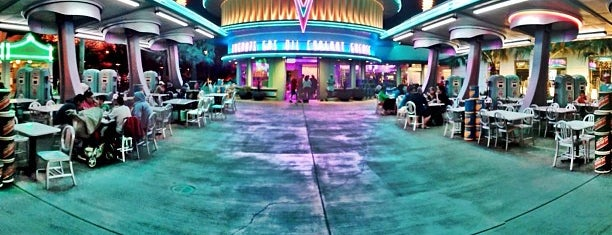 Flo's V8 Café is one of Foodie Finds.