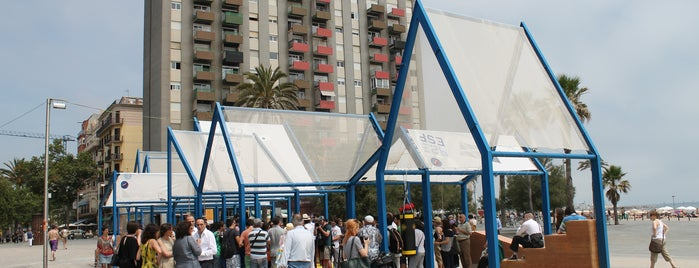 Plaça del Mar is one of BCN RE.SET.