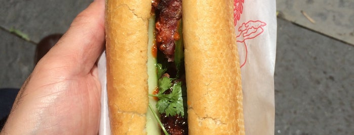 Banh Mi Cart is one of nyc todos.