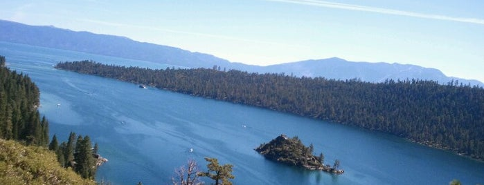 Emerald Bay Lookout is one of Tahoe.
