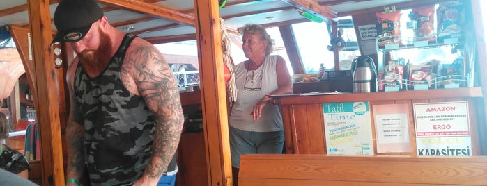 Amazon Boat is one of Marmaris.