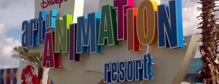 Disney's Art of Animation Resort is one of Walt Disney World.