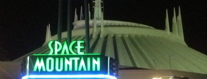 Space Mountain is one of Walt Disney World.