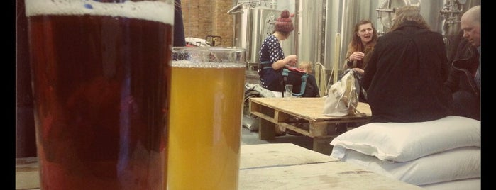 Brick Brewery is one of London's Best for Beer.