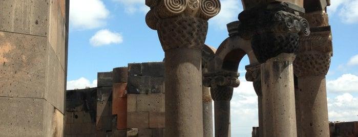 Zvartnots Cathedral | Զվարթնոցի տաճար is one of Armenia 🇦🇲✨.