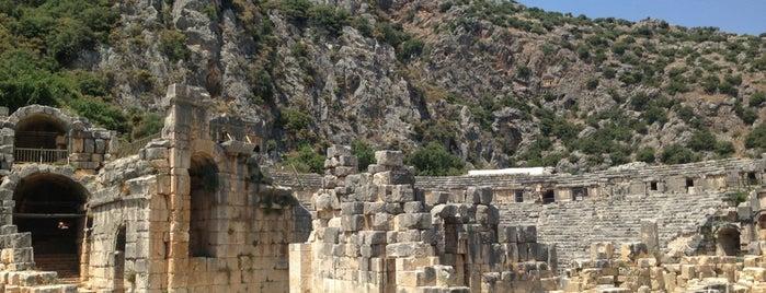 Myra Antik Kenti is one of * GİDİYORUZ :)).