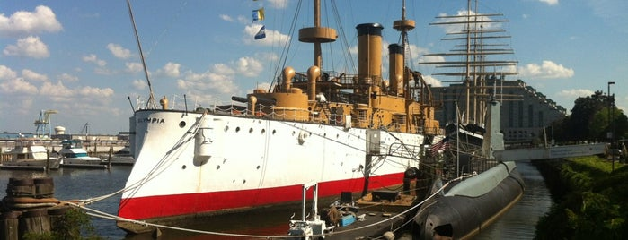 Independence Seaport Museum is one of Ships modern.