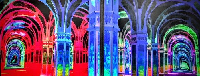 Magowan's Infinite Mirror Maze is one of San Francisco Dos.