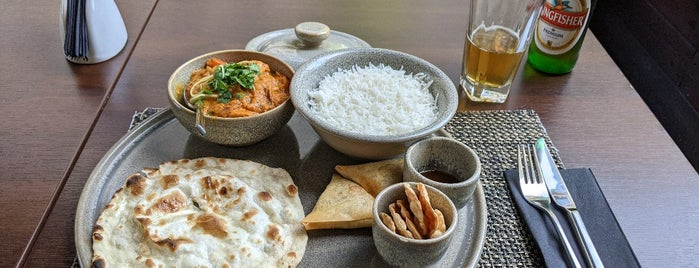 Singh's Indian restaurant & bar is one of Riga Foodie.