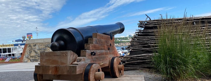 Batterie Royale is one of Québec.
