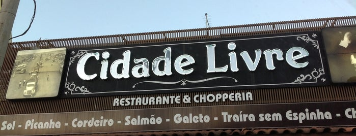 Cidade Livre is one of Thaiseさんの保存済みスポット.