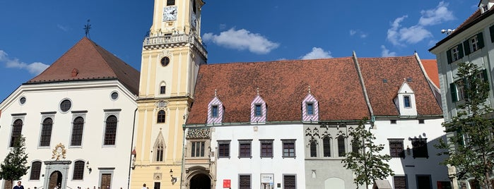 Stará Radnica | Old Town Hall is one of Queen: сохраненные места.