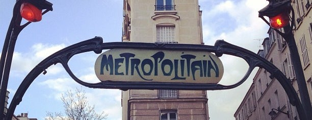 Métro Parmentier [3] is one of Went before.
