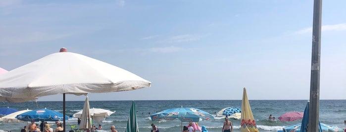 Sosyete beach is one of Tempat yang Disukai Merve.