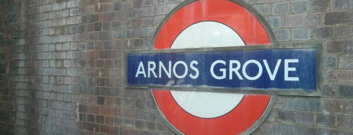 Arnos Grove London Underground Station is one of London POIs.