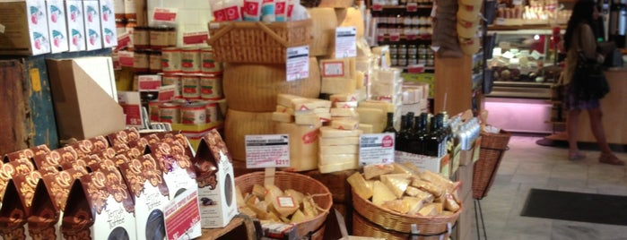 Murray's Cheese is one of NYC.