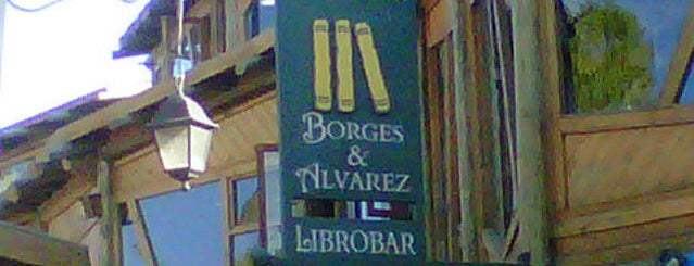 Borges & Alvarez Librobar is one of Hipstereando.