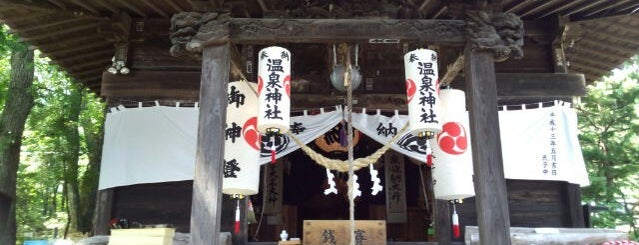 岳温泉神社 is one of Locais curtidos por Masahiro.