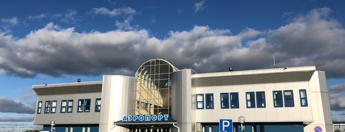 Cherepovets Airport (CEE) is one of Lieux qui ont plu à Tema.