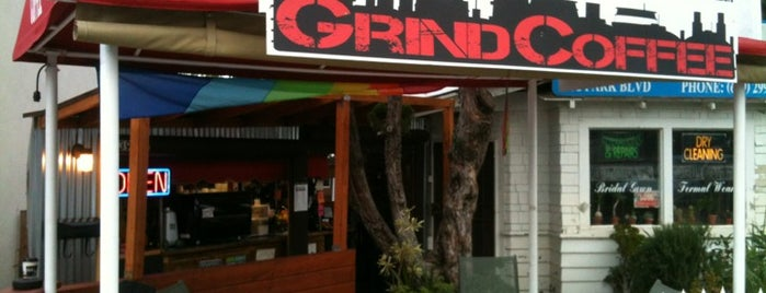 Industrial Grind Coffee is one of SD spots.