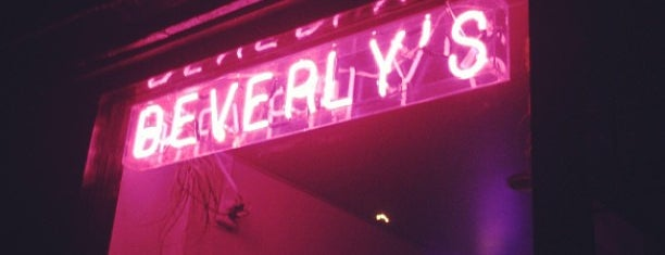 Beverly's is one of NYC bars etc.