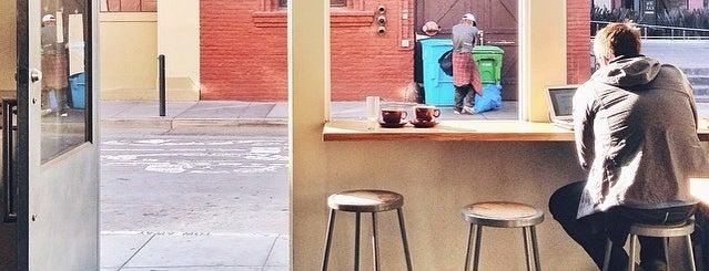 Blue Bottle Coffee is one of SF / LA April 2014.