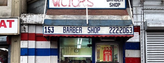 Victor's Barbershop is one of New York.