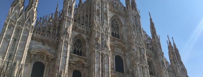 Doumo is one of Milano.