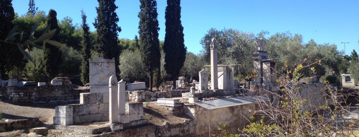 Archaeological Site of Kerameikos is one of Athens: Main Sights.