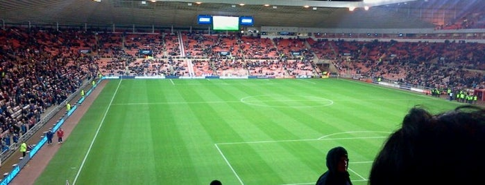 Stadium of Light is one of Stadiums.