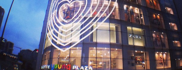 LOTTE young PLAZA is one of Seoul.