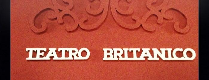 Teatro Británico is one of Lugares favoritos de Lizeth.
