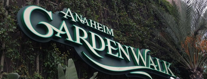 Anaheim GardenWalk is one of #myhints4OrangeCounty.