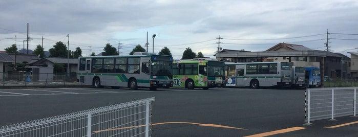 姫街道車庫 is one of 遠鉄バス  51|泉高丘線.