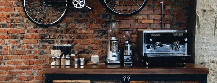 Skuratov, coffee roasters is one of Nikolay 님이 저장한 장소.