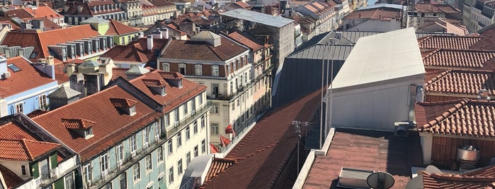 Miradouro do Elevador de Santa Justa is one of LISBON THINGS TO DO.