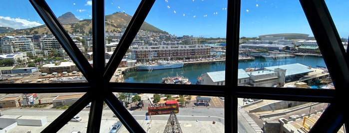 The Granary Café is one of Cape Town.