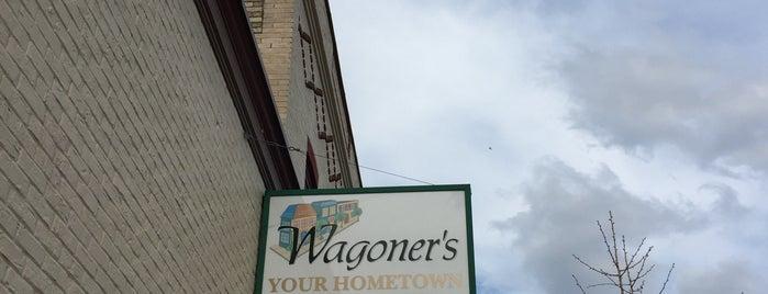 Wagoners Grocery is one of Andy : понравившиеся места.
