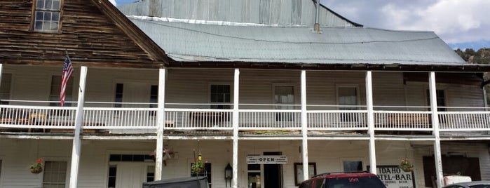 Idaho Hotel is one of Oldest Hotels in Every State USA.