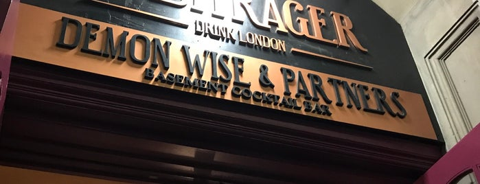 Demon, Wise & Partners is one of London.