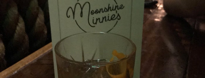 Moonshine Minnies is one of London Secret Bars.