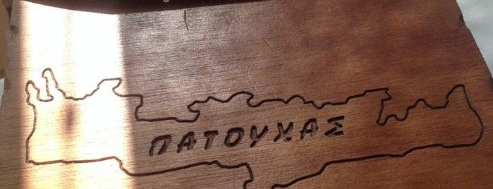 Πατούχας is one of WannaEaT.