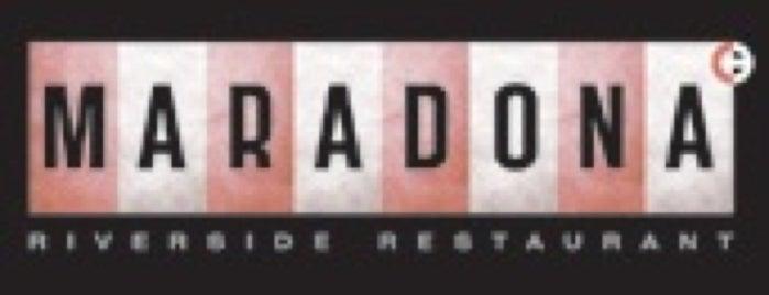 Maradona is one of Ginza PRIME (рестораны\кафе\клубы) (Москва).