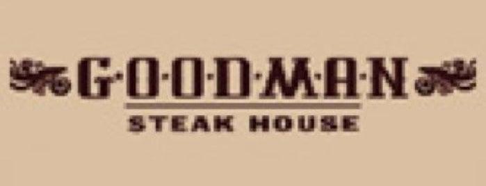Goodman is one of Resto TOP 100 ресторанов Москвы 2012.